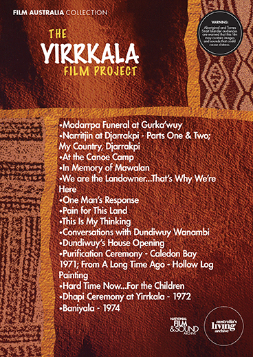 The Yirrkala Film Project