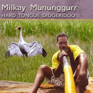 Hard Tongue Didgeridoo by Milkay Mununggurr