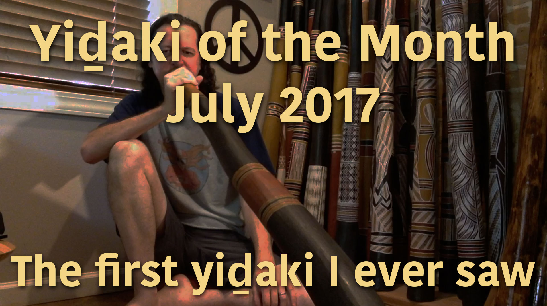 Yidaki of the Month #1