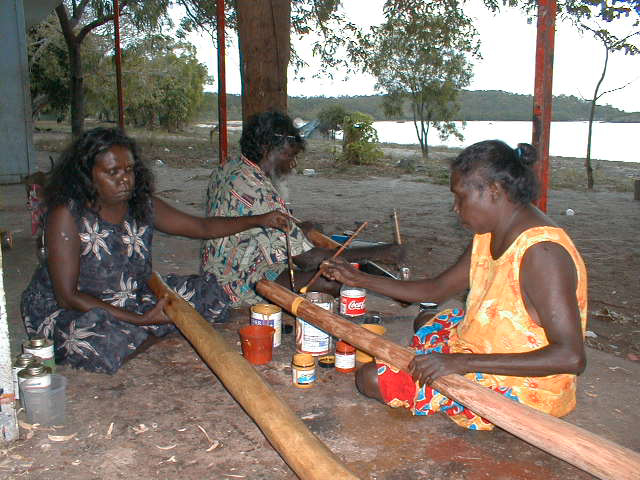 Women Didgeridoo Painters