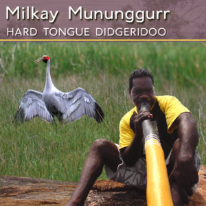 Milkay Mununggurr Hard Tongue Didgeridoo