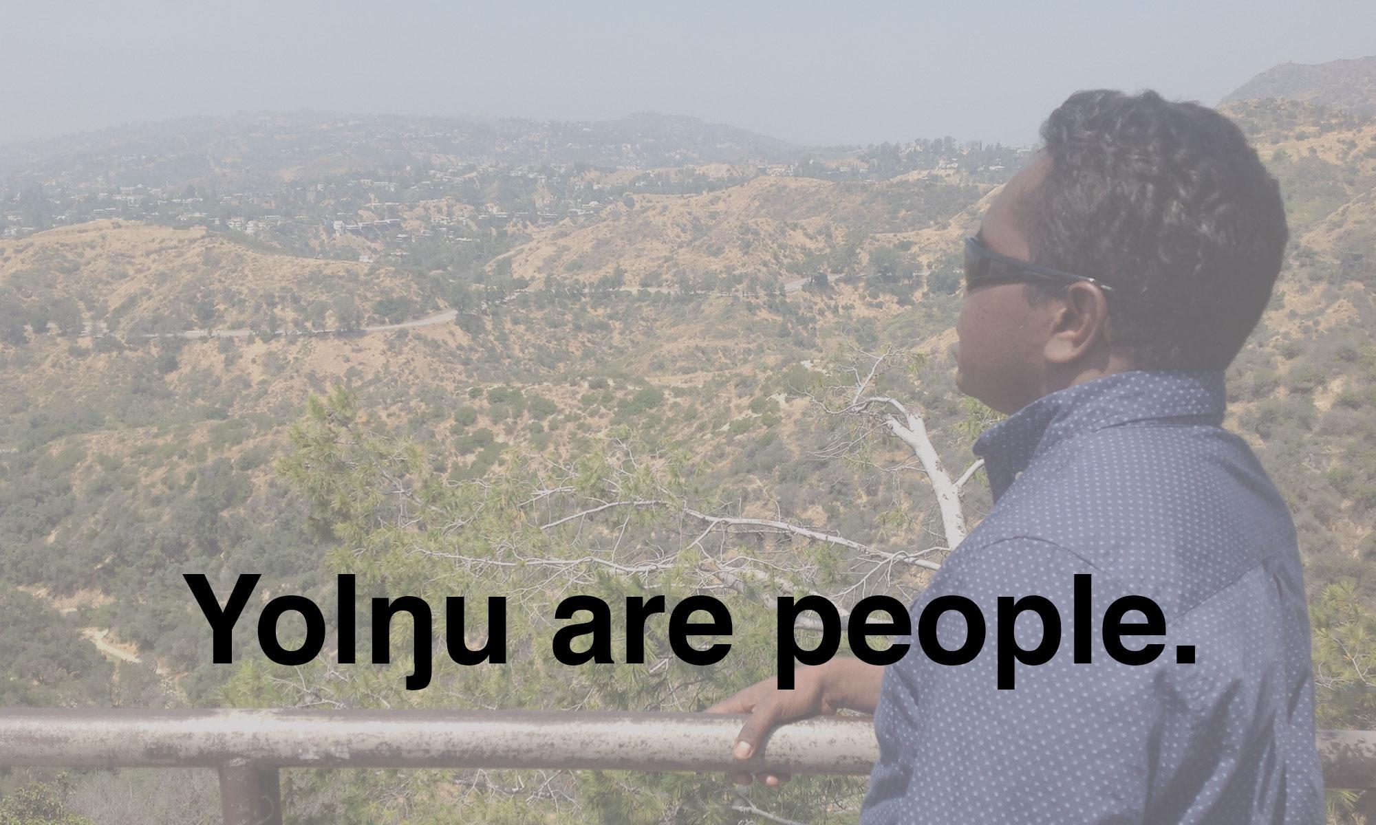 Yolngu are people.
